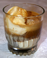 an italian dessert drowning in espresso affogatos can be made by ...
