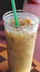 Iced Latte Espresso Coffee